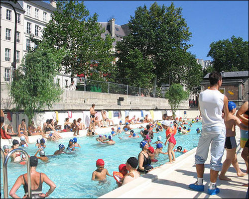 how to say paris plages